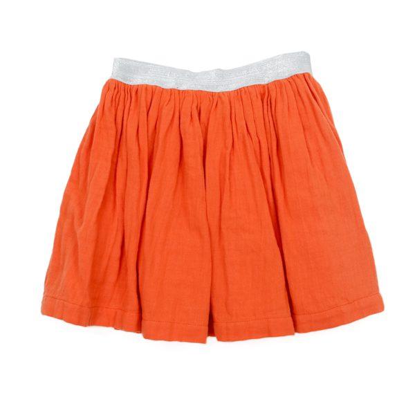 Lily Balou Adele Skirt Muslin Red Orange