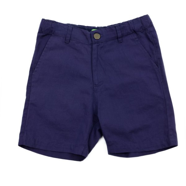 Lily Balou Astor Shorts Cotton Twill Gentian Blue