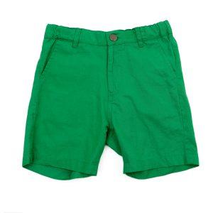 Lily Balou Astor Shorts Cotton Twill Grass Green