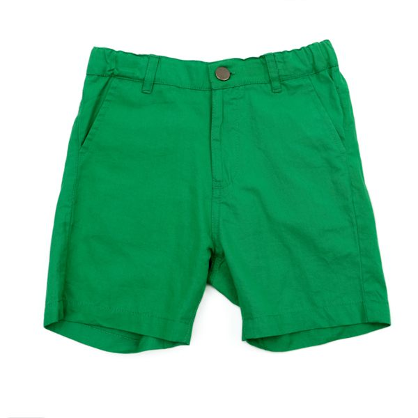 Lily Balou Astor Shorts Cotton Twill Grass Green