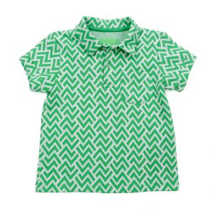 Lily Balou James Polo Jacquard Zigzag