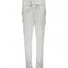 Geisha pants white stripes