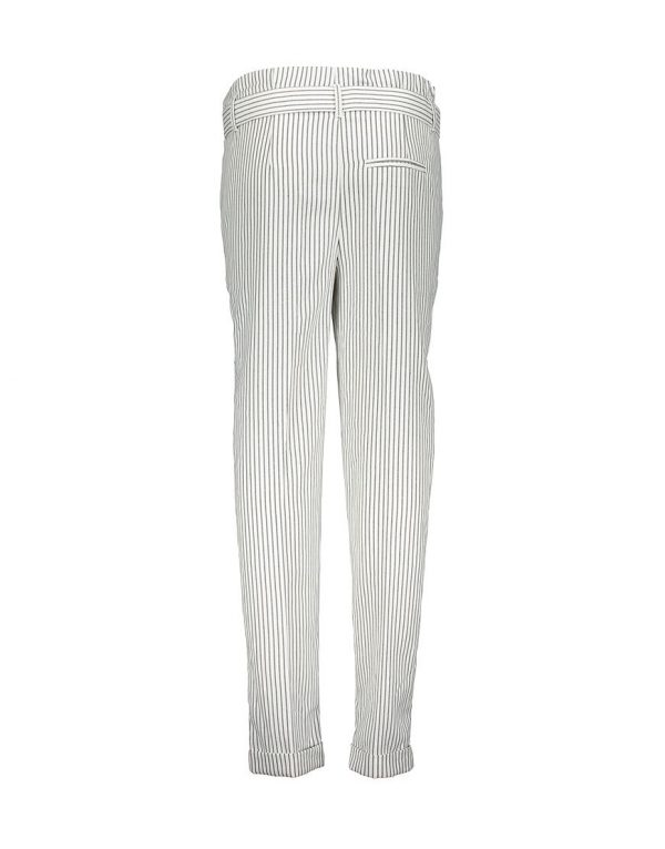 Geisha pants white stripes