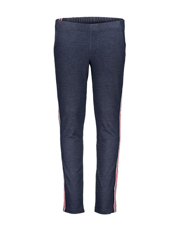 Geisha pants blue red