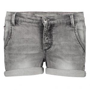 Geisha short grey denim
