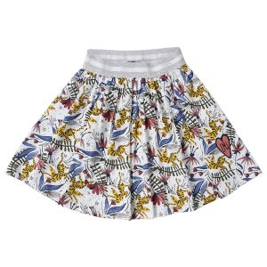 Little Miss Juliette printed skirt