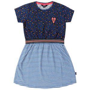 Little Miss Juliette Sweat Dress Blue