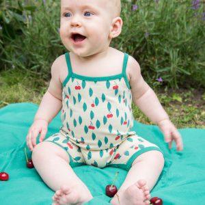Froy & Dind Combishort Straps Cherry
