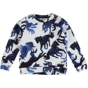 Molo Marlee Blau Horses