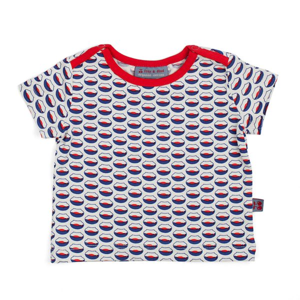 Froy & Dind T-shirt Theo Summer Fish Bowl