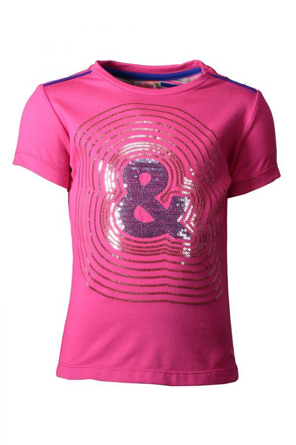 Kidz Art T-shirt Neon Fuchsia