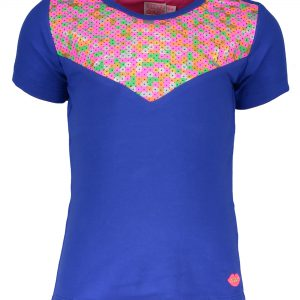 Kidz Art T-shirt donkerblauw multi color