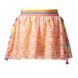 Kidz Art rokje multi color cotton lace