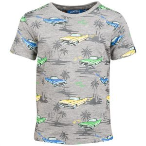 Someone T-shirt Cabrio Grey Melange