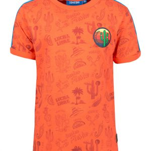 Someone T-shirt Fiesta Orange