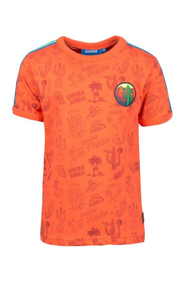 Someone T-shirt Fiesta Orange