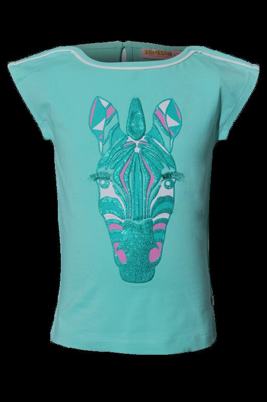 Someone T-shirt Zaia Mint