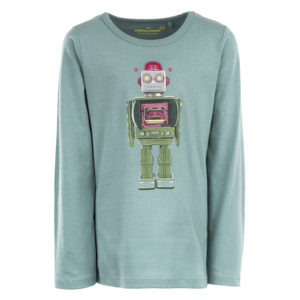 STONES and BONES longsleeve Skipper Robot teal