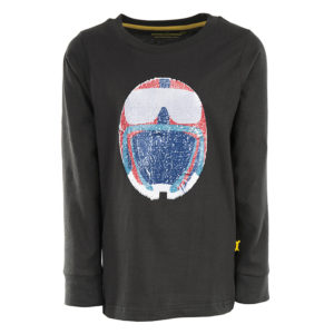 STONES and BONES longsleeve Tougher Helmet antracit