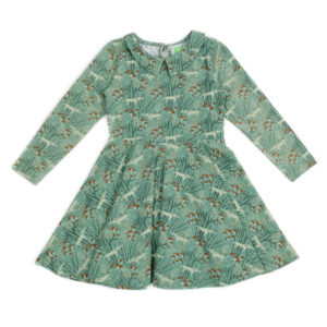 Lily Balou Amelie dress Wolves Green
