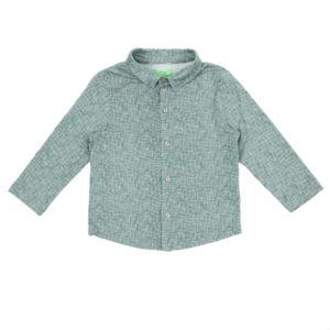 Lily Balou Lucas shirt Texture Green