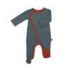 Froy & Dind jumpsuit met voetjes Fox
