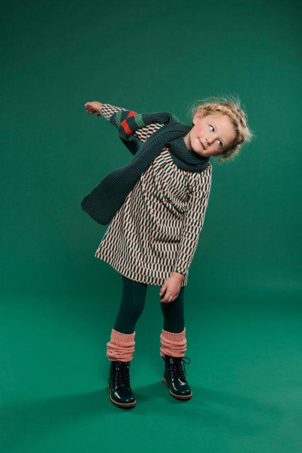 Lily Balou Ellie leg warmers Tawny Pink