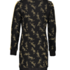Dress-leopards-with-satin-tape-yellow-14494