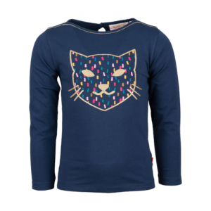 Someone longsleeve Geomi Navy