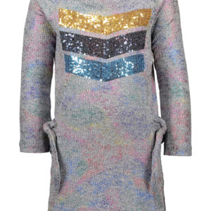 Kidz Art jurk Grey Melée