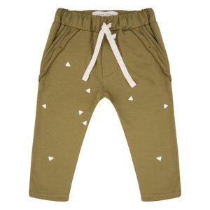 Little Indians broek Ruffle Triangle Olive
