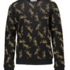 Geisha sweater Leopards black/yellow
