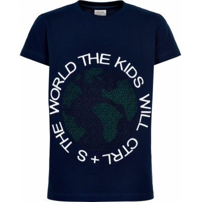 The New T-shirt Oki Black Iris
