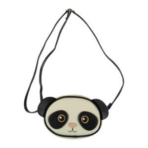 Molo Panda Bag black white