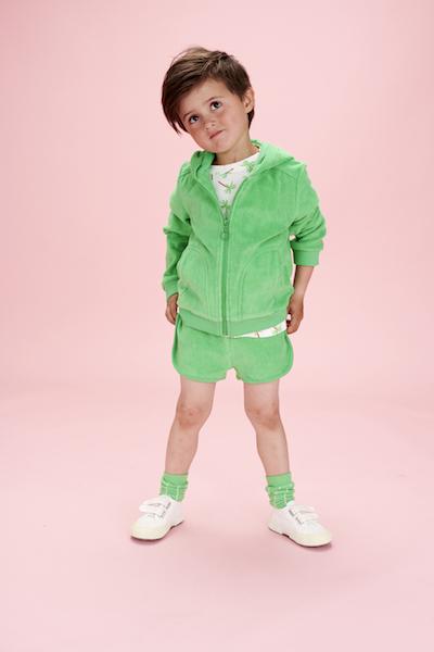 Lily Balou Kas Baby T-shirt Palm Trees