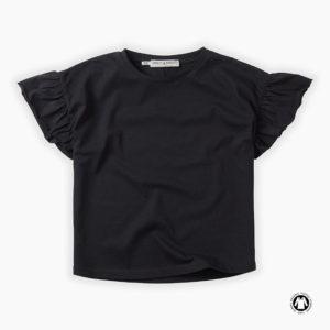 Sproet & Sprout T-shirt Ruffle Asphalt