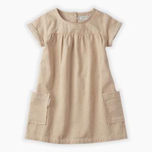Sproet & Sprout jurk Pinstripe
