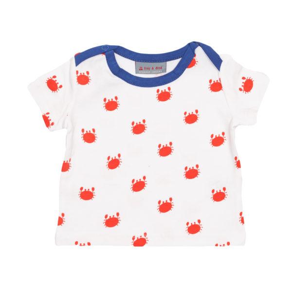 Froy & Dind shirt Theo Summer Crabfish