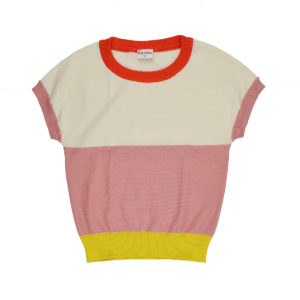 Baba Knitted Shirt Sweet Rose