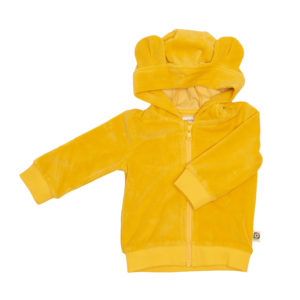 Onnolulu Hoodie Balou Yellow velours