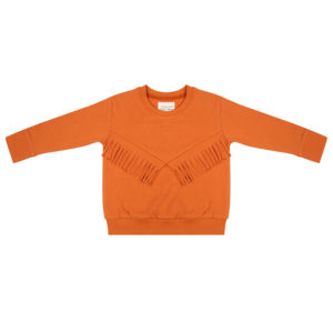 Little Indians Boho Sweater Bombay Brown
