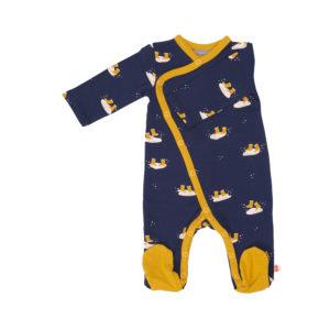 Froy & Dind jumpsuit met voetjes Rainboots