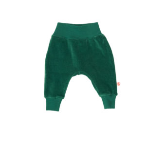 Froy & Dind broek Iggy Evergreen velours