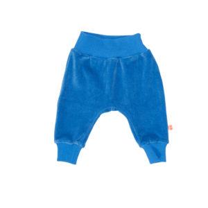 Froy & Dind broek Iggy Snorkel Blue velours