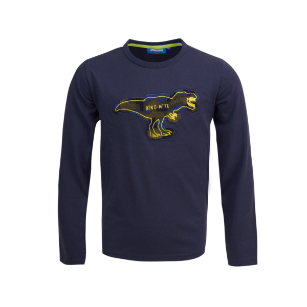 Someone Longsleeve Map Navy