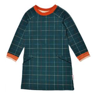 Ba*ba jurk Pocketdress Checked blue