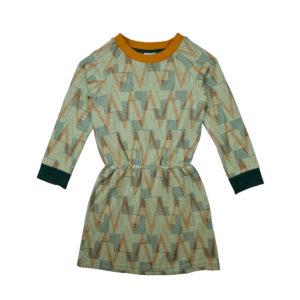 Ba*ba jurk Sweater Dress Geometric jacquard