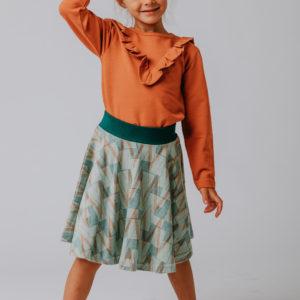 Ba*ba Ruffle shirt Autumnal