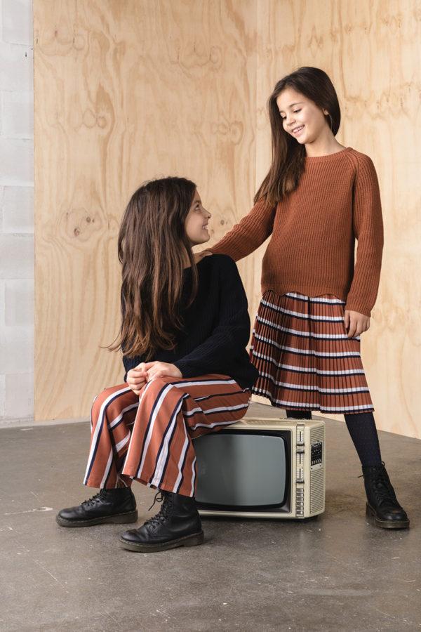 The New Rachel Pleat Skirt