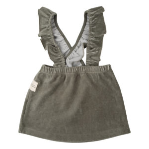 Little Indians salopettejurk Corduroy Green